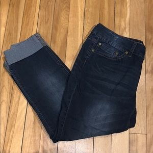 Indigo Rein Jeans Forever Capri Size 11